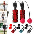 Ropeless Jump Rope, Adjustable Cordless Skipping Rope, for Gym Training Indoor Outdoor Training Fitness Equipment, Grey