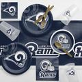 Los Angeles Rams Game Day Party Supplies Kit for 8 Guests