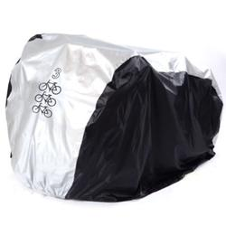 lzndeal New Waterproof Bike Cover Uv Snow Proof Bicycle Outdoor Rain Protective Covers for 3 Bikes