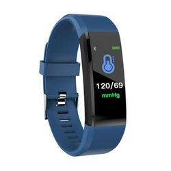 Waterproof Smart Bracelet Watch,Fitness Tracker with Heart Rate Monitor, Fitness Tracker Smart Watch, Sport Watch with Step Counter,Monitoring Smart Wristband Fitness Band, Blue