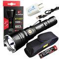 Klarus Xt12Gt Rechargeable Flashlight 1600 Lumen Led Light Bundle With A Lumintrail Usb Wall Adapter