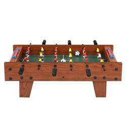 """27"""" Foosball Table, Wooden Soccer Game Table Top w/ Foosball Table Game Footballs, Suitable for Game Room, Bars, Parties, Family Night"""