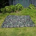 CHICIRIS Portable Tent Tarp, Outdoor Tent Shelter, Camouflage Outdoor Portable Lightweight Rainproof Mat RainTent Tarp Shelter