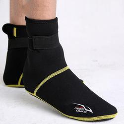 3mm Sport Premium Neoprene Men & Women Wetsuit Boots,Beach Diving Socks,Flexible Water Socks Low Cut Booties Anti Slip Fin Socks for Watersports