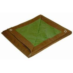Foremost Tarp 11220 12' X 20' Brown Green Dry Top Reversible Polyethylene Tarp