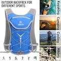 Hydration Pack for 2L Water Bladder Large Capacity Wearproof Breathable Lightweight Hiking Running Cycling Outdoor Compact Backpack