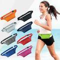 Unisex Sport Waist Belt Bum Pouch Fanny Pack Camping Hiking Running Zip Bag lots
