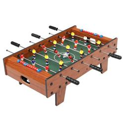 """27"""" Foosball Table, Wooden Soccer Game Table Top w/ Durable Parties Foosballs, Suitable for Game Room, Bars, Parties, Family Night"""