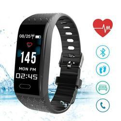 EleaEleanor Mens Womens Smart Sports Bracelet Watch Date Digital Wrist Watch Sport Pedometer Run Step Electronic Digital Watch