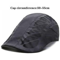 Yinrunx Beret Flat Caps Hats for Men Berets for Kids Outdoor Sun Visor Hats Mens Hat Upf50+summer Lightweight Breathable Quick-drying Cap Tennis Baseball Cap Wild Cap Sunscreen Fishing Cap Sports Hat