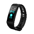 Fitness Tracker HR,fitness tracker with blood pressure monitor, Waterproof Smart Fitness Band with Step Counter, Calorie Counter, Pedometer Watch fitness tracker watch (BLACK)