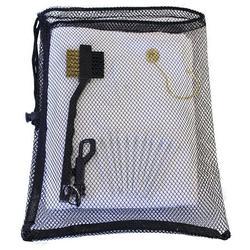 Golf Utility Kit by JP Lann (Includes: Towel, Tees, Ball Markers, Divot Tool & Utility Scrub Brush)