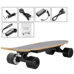 Electric Skateboard, Hifashion 28inch Remote Electric Skateboard Longboard Bluetooth with Remote Controller & Maple Deck electric hoverboad