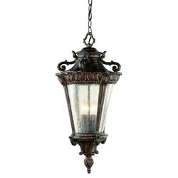 Trans Globe Lighting 4843 Patina Four Light Up Lighting Outdoor Pendant From The Outdoor