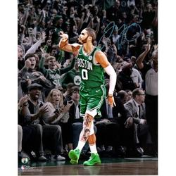 "Jayson Tatum Boston Celtics Autographed 16"" x 20"" Game Winning Shot over RJ Barrett Photograph - Fanatics Authentic Certified"