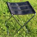 LYUMO Folding Stool,Foldable Camping Seat,Portable Folding Stool Aluminum Alloy Foldable Fishing Chair Outdoor Camping Seat