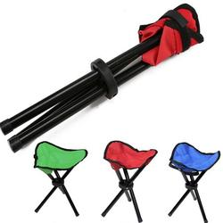 Camping Folding Stool,Portable 3 Legs Chair Tripod Seat Oxford Cloth For Outdoor Hiking Fishing Picnic Travel Beach BBQ Garden Lawn