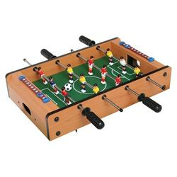 Fun Little Games- Mini Tabletop Soccer Game Desktop Foosball Table For Kids, Teens, And Adults. Indoor Foozeballs Table For Table Top Game-20 Inch Soccer Table Game Foosball Tables