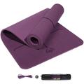 SUNFEID Yoga Mat Extra Thick Non Slip Eco Friendly Yoga Mat Non Slip Yoga Mats for Women Thick Non Slip