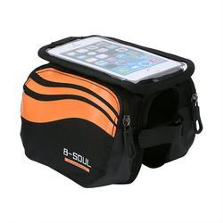 Yosoo 3 Colors Waterproof Bicycle Frame Pannier Bike Front Head Top Tube Bag Cell Phone Accessories, Bicycle Frame Bag, Bicycle Bag