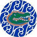 Stoneware Drink Coasters, University of Florida Swirls