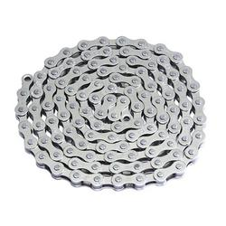 """Lowrider YBN Bicycle Chain 1/2"""" X1/8 Single Speed Chrome. Bike Part, Bicycle Part, Bike Accessory, Bicycle Accessory"""