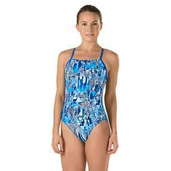 Speedo Women's Race Space Cross Back Swimsuit - 2017
