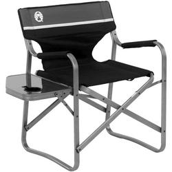 Coleman Camping Chair with Side Table Aluminum Outdoor Chair with Flip Up Table