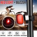 Super Bright Bike Light General / Smart Type Cob Red 60 Lumen LED 5 Modes Lighting Bicycle Taillight