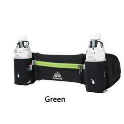 Running Sports Waist Pack Unisex Lightweight Waist Pack with Dual Bottle Holder