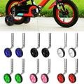Windfall 2Pcs Universal Children Kids Bicycle Bike Auxiliary Wheel Accessories for all Bikes from 12-20 Inch