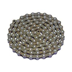 """Lowrider YBN Bicycle Chain 1/2"""" X1/8 Single Speed Brown. Bike Part, Bicycle Part, Bike Accessory, Bicycle Accessory"""