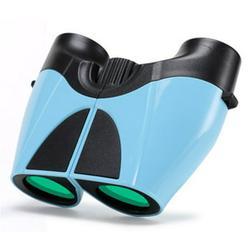 Shock Proof Compact Lightweight Kids Binoculars - 10x22 High Resolution Binoculars for Kids - Best Gifts For Boys and Girls