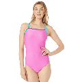Speedo Womens Swimsuit One Piece Prolt Propel Back Solid, Pink, Size 28