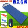 Waterproof 86.6 inch x 29.5 inch Sleeping Bag for Single Person for Outdoor Hiking Camping,Warm Soft Adult One Person Use