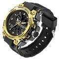 Men's Military Watch Outdoor Sports Electronic Watch Tactical Army Wristwatch LED Stopwatch Waterproof Digital Analog Watches