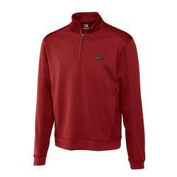 St. Louis Cardinals Cutter & Buck Half-Zip DryTec Edge Pullover Jacket - Cardinal