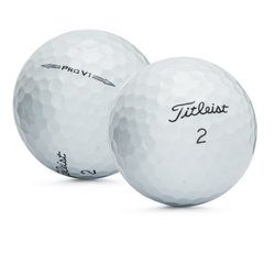 36 Titleist ProV1 2014 AAAAA Mint Used Golf Balls with Tote Bag