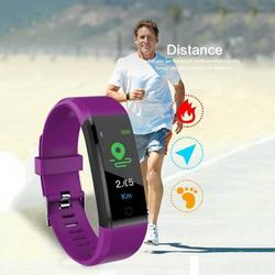 Prettyui Fitness Tracker Activity Tracker with Heart Rate Monitor Waterproof Smart Watch Blood Pressure Rate Smart Wristband Fitness Band Sports Fitness Activity Tracker Smart Watch