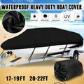 Boat Cover, Waterproof Heavy Duty Boat Covers Trailerable Runabout Boat Cover