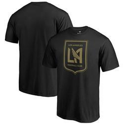 LAFC Fanatics Branded Team Primary Logo T-Shirt - Black