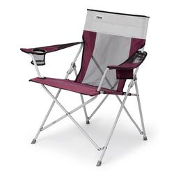 Core Portable Outdoor Camping Folding Chair with Carrying Storage Bag, Wine