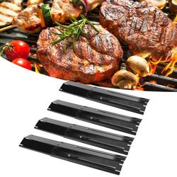 Kritne 4 Sets Adjustable Grill Heat Plate Shield Heat Tent Replacement Parts Fit for Brinkman BBQ Gas Grill,Grill Replacement Parts,Grill Heat Tents