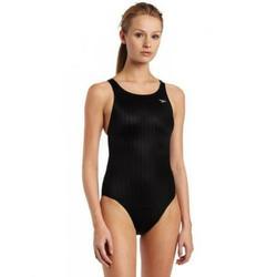 Speedo Women's Race Lycra Blend Aquablade Recordbreaker Swimsuit,Black,36