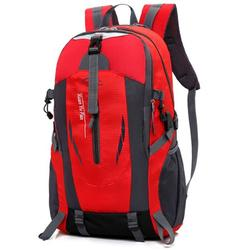 Hiking Backpack with USB Charging Port, 50L Waterproof Nylon Backpack Climbing Daypacks Shoulder Bag for Men Women, Outdoor Sports Travelling Camping Hydration Backpack