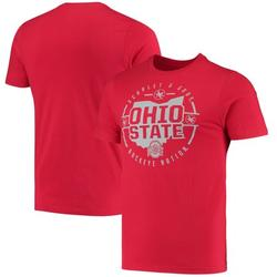 Ohio State Buckeyes Colosseum Buckeye Nation State T-Shirt - Scarlet
