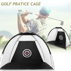 10ft/6.5 Golf Nets for Backyard Driving Golf Practice Net Golf Nets for Indoor Use Golf Hitting Nets Home Driving Range - with Target and Carry Bag
