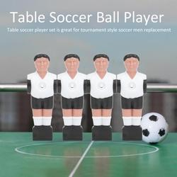 Tebru Table Football Game Accessory,11Pcs 1.4M Table Soccer Ball Player Man Replacements Table Football Game Machine Accessory,Table Football Player