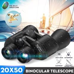 50x50/60x60/20x50 HD Binoculars Waterproof Folding High Powered Binoculars Gift Clear Binoculars Binoculars Waterproof for Folding Spotting Telescope Bird Watching Christmas Gifts Travel +Bagfor Bird