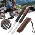 M390 Steel Folding Knife Portable Pocket Wood Camping Hunting Knife Outdoor Portable Tactical Knife Mens gift ,,Perfect Tool for Men,Camping,Emergency,Outdoor,Daily Use.